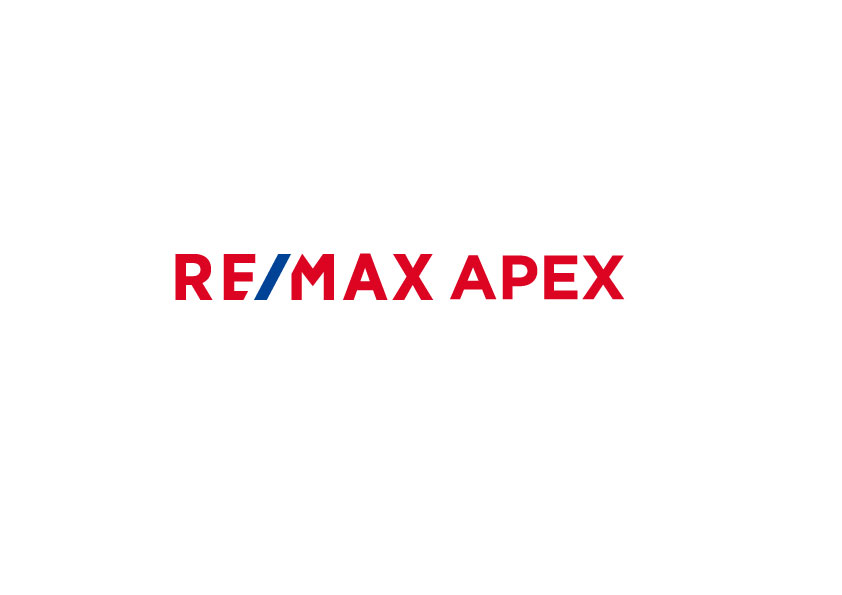 The logo of RE/MAX APEX here in Osaka, Japan