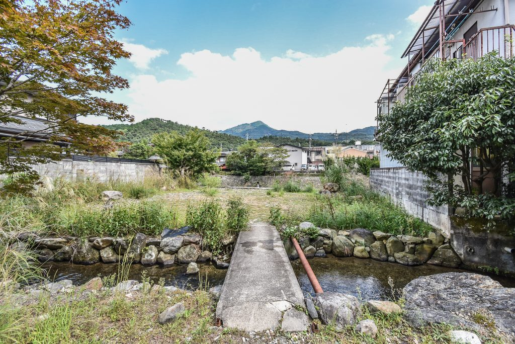 Land found in Sakyo-ku of Kyoto City which was sold in September 2020.