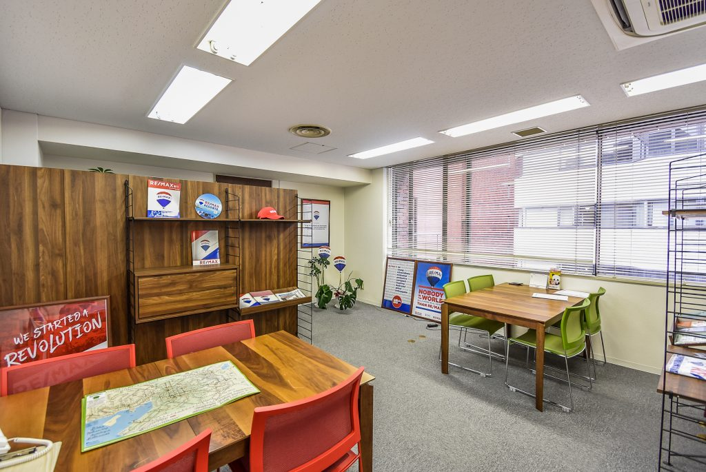 REMAX Apex office located in Osaka, Japan.