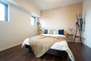 サンメゾン緑地公園アベニュー寝室