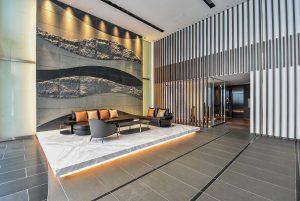 Laurel Tower Shinsaibashi common lobby area